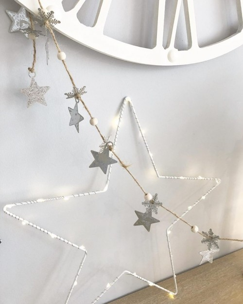 star and snowflake garland2
